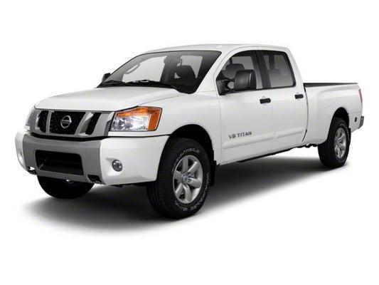2010 Nissan Titan 4wd Crew Cab Swb Pro 4x Spokane Wa Spokane