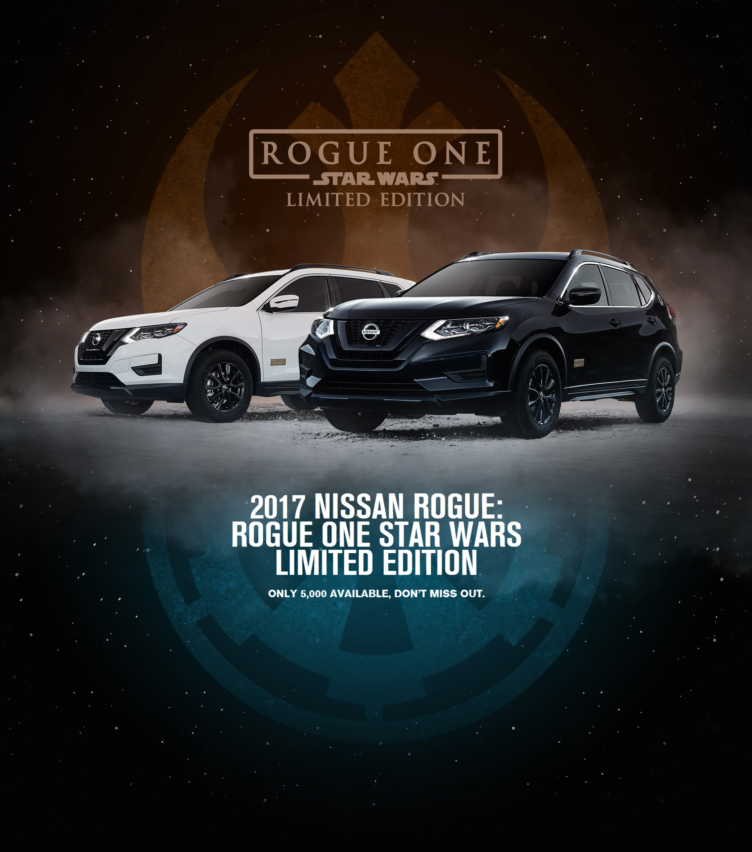 The New 2017 Nissan Rogue Rogue One A Star Wars Story