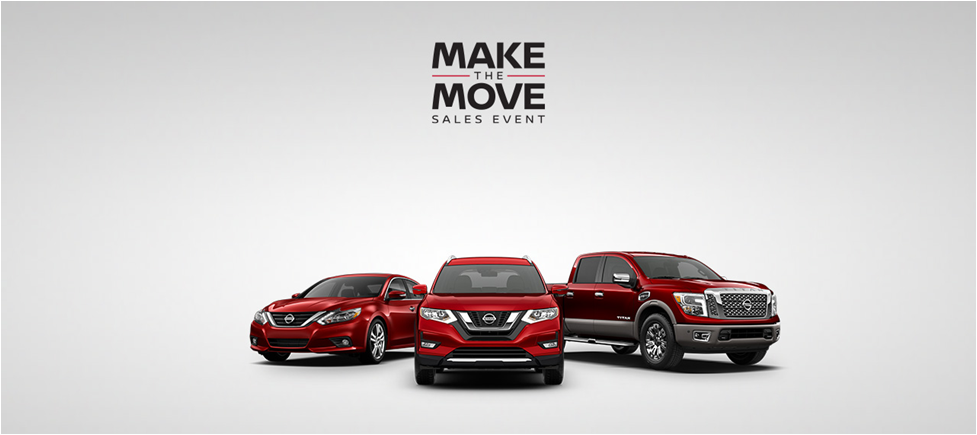 make the move sales event at wendle nissan in spokane wa