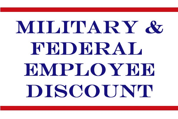 543f728cc6 MILITARY   FEDERAL EMPLOYEE DISCOUNT